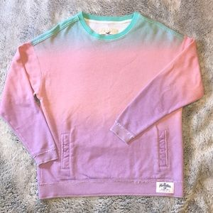 Hollister Beautiful Ombré Pullover Sweatshirt